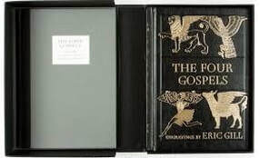 The Four Gospels of the Lord Jesus Christ illustrated by Eric Gill, 2007 - Luxury Limited Edition by The Folio Society
